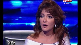 getlinkyoutube.com-100 سؤال - الفنانة علا غانم وتفاصيل ضرب زوجها لها امام بناتها !