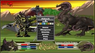 Adventure Quest Ubear - The STRONGEST Build 2013