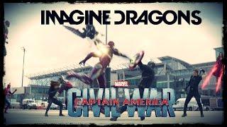 getlinkyoutube.com-Captain America: Civil War - Warriors Imagine Dragons [SPOILER] HD1080p