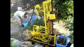 getlinkyoutube.com-手作り井戸掘り機・homemade Well Drilling machine