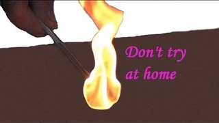 How To Create  Fire By AC Electricity