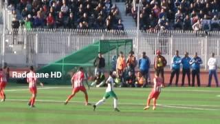 ملخص لقاء اتحاد بلعباس 2 مولودية وهران 0 موسم 2016/2017