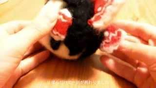 getlinkyoutube.com-【羊毛フェルト】ゆっくり霊夢・魔理沙のがま口サイフを作ってみた【ゆっくり実況】
