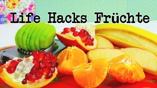 getlinkyoutube.com-Life Hacks Top 5: Früchte / Obst Tipps und Tricks + Bonustipp! | Life Hacking | deutsch