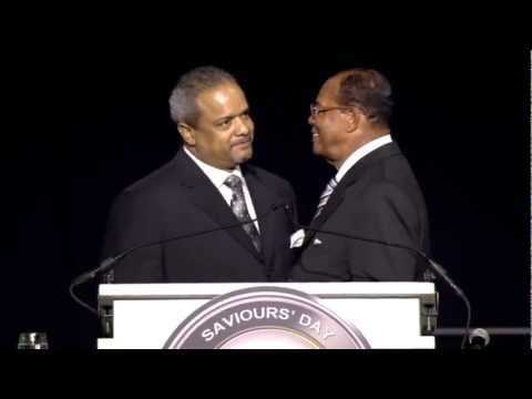 Farrakhan Speaks on Pres. Barack Obama, Judas & the setup of Jesus, Greed, and Zionism