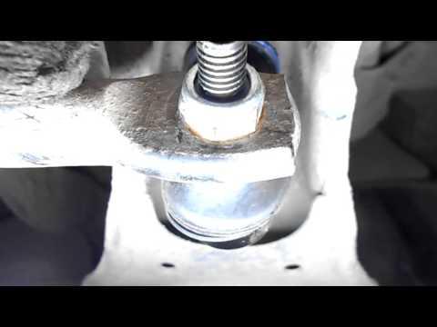 Как поменять заднюю стойку стабилизатора мазда 3