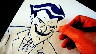 getlinkyoutube.com-Como Desenhar o Coringa [JLH] - (How to Draw Joker) - SLAY DESENHOS #99