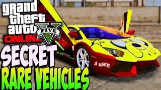 getlinkyoutube.com-GTA 5 Online - RARE SECRET CARS ONLINE 1.20/1.22 - Secret Rare Vehicles (GTA 5 Cars Guide)