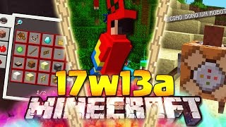 NUOVO MOB PAPPAGALLO - Minecraft ITA - 17w13a: Uccelli, Narratore, Advacement, Guida Crafting