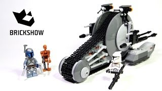 getlinkyoutube.com-Lego Star Wars 75015 Corporate Alliance Tank Droid Build & Review