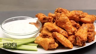 getlinkyoutube.com-Homestyle Crispy Buffalo Chicken Wings - Kitchen Conundrums with Thomas Joseph