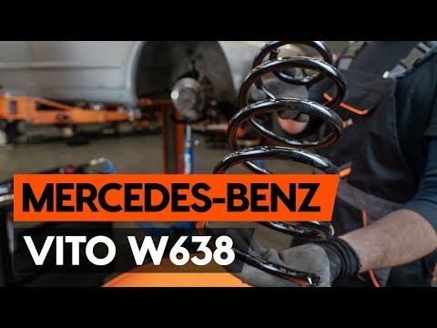 Как заменить переднюю пружину стойки амортизатора MERCEDES-BENZ VITO 1 (W638) (ИНСТРУКЦИЯ AUTODOC)