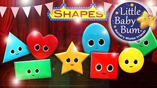 getlinkyoutube.com-Shapes Song | Nursery Rhymes | from LittleBabyBum!