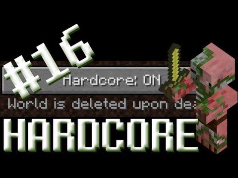 Minecraft HARDCORE #16 - skkf złomiarz + piosenka :)