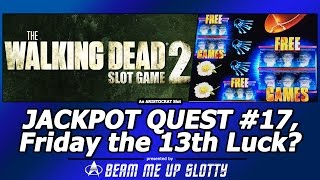 getlinkyoutube.com-Jackpot Quest #17 - Friday the 13th Luck in the The Walking Dead 2?