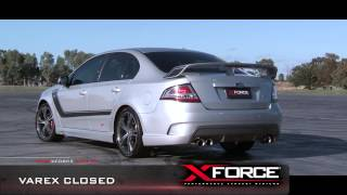 "getlinkyoutube.com-XFORCE VAREX FPV FALCON FG GT 5L Twin 3"" Performance Exhaust System"