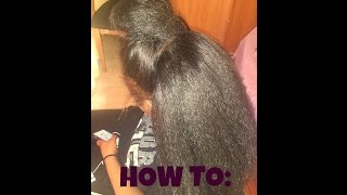 getlinkyoutube.com-HOW TO: Versatile/ Vixen Crochet Braids