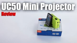 getlinkyoutube.com-UC50 Mini Portable Projector : Quick Review