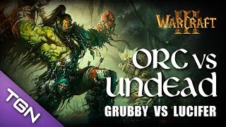 getlinkyoutube.com-Warcraft 3 - Grubby (Undead) vs Lucifer (Orc) - Lost Temple