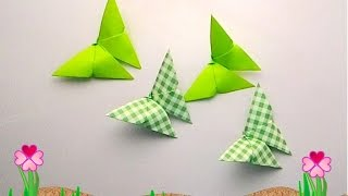 getlinkyoutube.com-Origami butterfly 3 (พับกระดาษ ผีเสื้อง่ายๆ น่ารัก 3)