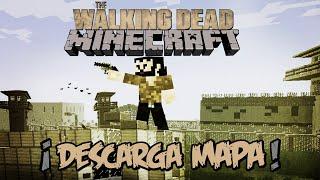 MINECRAFT - THE WALKING DEAD (PRISION) ¡DESCARGAR MAPA!