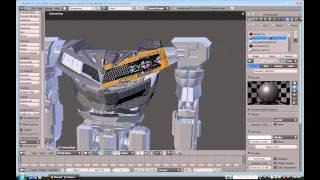 getlinkyoutube.com-Blender Time lapse remaking Silverstreak part 1
