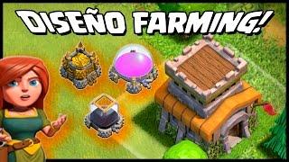 getlinkyoutube.com-DISEÑO FARMING - AYUNT 8 - PROTEGIENDO A MUERTE - A por todas con Clash of Clans - Español - CoC