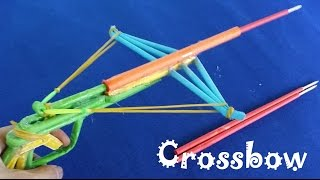getlinkyoutube.com-How to make a very cool Paper Crossbow shoots paper Arows | with Trigger