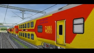 getlinkyoutube.com-MSTS IR Indian Railways (XIII) By Vaibhav Wakharkar