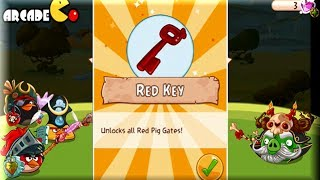 getlinkyoutube.com-Angry Birds Epic - How To Get Red Key - Unlocks All The Red Pig Gates - Angry Birds