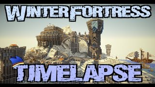 getlinkyoutube.com-Minecraft Timelapse - Winter Fortress