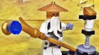 getlinkyoutube.com-sy 닌자고 마스터 우 사부님 고스트닌자 미니피겨 레고 짝퉁 Lego knockoff ninjago master wu minifigure