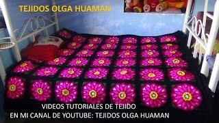 getlinkyoutube.com-Flor grande en punto rococo de 12 pétalos video 6