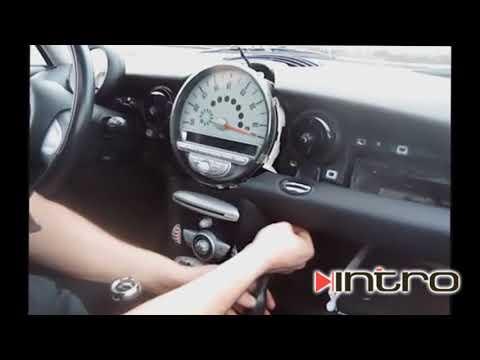 Как снять магнитолу Mini 2006+