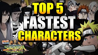getlinkyoutube.com-Naruto Ultimate Ninja Storm Revolution - Top 5 Fastest Characters w/ Commentary