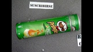 getlinkyoutube.com-Còmo hacer un caleidoscopio reciclando botes de Pringles. Kaleidoscope  PringlesHacks cans
