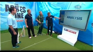 getlinkyoutube.com-warney bowling  healey wicket keeping