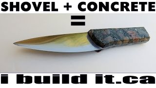 getlinkyoutube.com-Metalwork: The Shovel And Concrete Knife