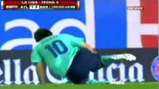 getlinkyoutube.com-Messi lesionado