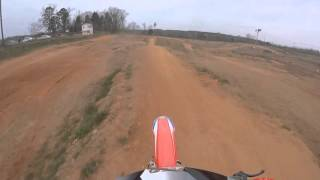 getlinkyoutube.com-Dirt City USA Motorcross track - Mason Baucom 250