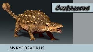 Ankylosaurus Timelapse Texturing - Cretaceous