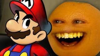 getlinkyoutube.com-Annoying Orange - Super Mario