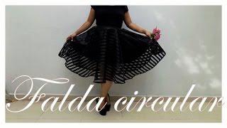 getlinkyoutube.com-Falda circular fácil