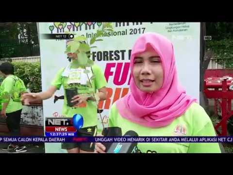 kemenlinghut Bagikan Bibit Pohon pada Peserta CFD Jakarta - NET12