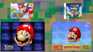 getlinkyoutube.com-Mario 64 vs Mario 64 DS side by side comparison