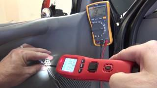 Troubleshooting Mirror Switch in Ford F150 using Power Probe 4 PP4