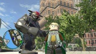 getlinkyoutube.com-LEGO Marvel Super Heroes - Asgard DLC Pack All 8 Characters + Free Roam Gameplay