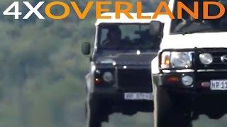 Land Rover Defender versus Toyota Land Cruiser 76 Wagon
