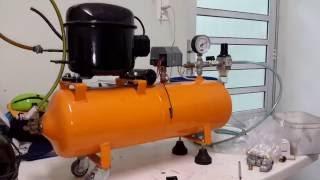 getlinkyoutube.com-Compressor de Ar Caseiro - Lista de Peças