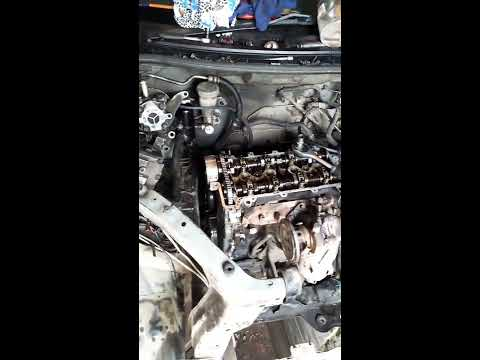 Замена Цепи Грм на Daihatsu Yrv МКП